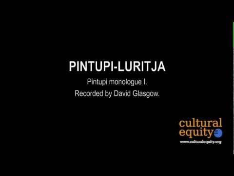 Parlametrics: Pintupi-Luritja I