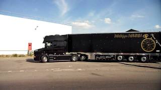 getlinkyoutube.com-Scania T Longline V8 Transports Philippe Maurin (Routiers-de-chato-44.sky')