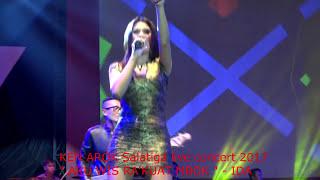 """HOT """" AKU RA'KUAT MBOK """" live show KEN AROK Salatiga 2017 - voc, IDA"""