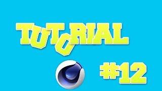 getlinkyoutube.com-Tutorial #12 - Cinema4D - Eine Textumrandung machen | JannikDesigns |
