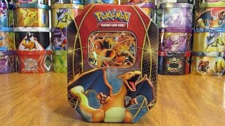 25 Pokemon Tin Opening: Charizard EX