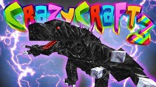 getlinkyoutube.com-Minecraft Crazy Craft 3: Unexpected Mobzilla Battle! #48