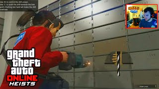 getlinkyoutube.com-GTA 5 Heists - FIRST HEIST COMPLETE GAMEPLAY! (GTA 5 Fleeca Bank Heist Walkthrough)