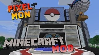 getlinkyoutube.com-Minecraft - PixelMon - Il Laboratorio di Lyon: Le Migliori Mod