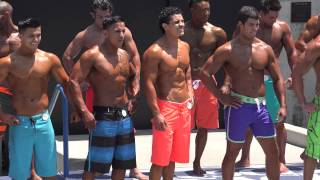 getlinkyoutube.com-Physique Men #4 Prejudge at Muscle Beach - Memorial Day 2014