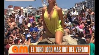 """getlinkyoutube.com-El Toro Loco Más Hot del Verano con Vanina de """"Fiestisima"""" - AM"""