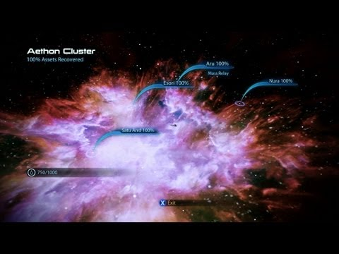 Mass Effect 3 Scanning Guide - Aethon Cluster