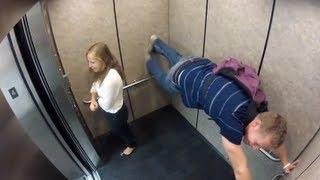 getlinkyoutube.com-Прикольные неловкие ситуации в лифте