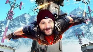 getlinkyoutube.com-Gronkh - Alle Fallschirm und Wingsuit Fails in Just Cause 3