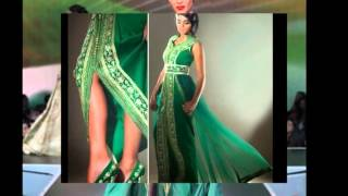 getlinkyoutube.com-Collection Caftans et takchitas couleur vert