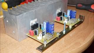 getlinkyoutube.com-TDA7294 stiprintuvas  / TDA7294 amplifier 1/2