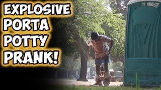 getlinkyoutube.com-Explosive Porta Potty Prank