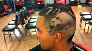 getlinkyoutube.com-Michael Jordan haircut by thejoebarber