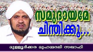 സമുദായമേ ചിന്തിക്കു | Islamic Speech In Malayalam | Muhammad Ali Saqafi 2015 New