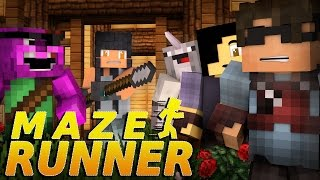 "getlinkyoutube.com-Minecraft MAZE RUNNER! - ""A GIRL APPEARS?!"" #4 (Minecraft Roleplay)"