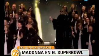 getlinkyoutube.com-Visión Siete: Madonna brilló en el Super Bowl 2012