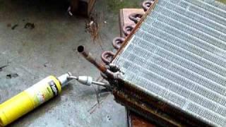 getlinkyoutube.com-Convert A/C coils into hot water heat exhangers (1)
