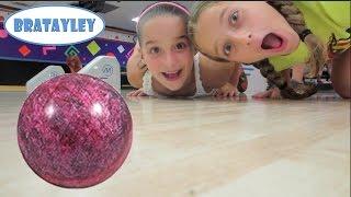 getlinkyoutube.com-Bowling Alley Fun with Sydney and Luke (WK 184.6) | Bratayley