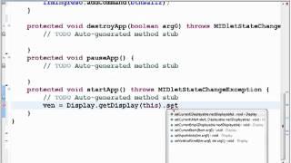 getlinkyoutube.com-Aplicaciones Moviles JAVA - Sesion1: J2ME Aplicacion Basica