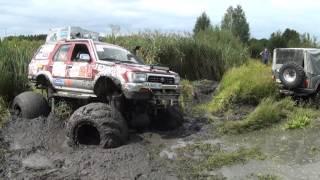 getlinkyoutube.com-Оффроад 4х4 Тойота 4раннер/сурф 4runner Surf на колесах Я170 арки болото грязь джип