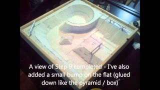 getlinkyoutube.com-Tech Deck Concrete DIY Skatepark