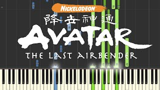 Avatar: The Last Airbender - Piano Medley (Synthesia)
