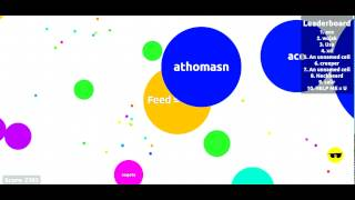 Awesomedude Plays Agar.io - Getting HUGE! Part 2