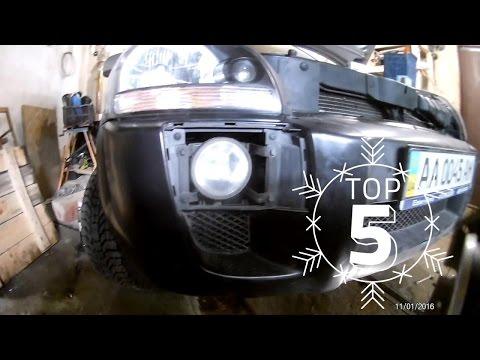 Замена лампочки противотуманной фары (ПТФ) Hyundai Tucson. Замена лампы в противотуманке H27/2
