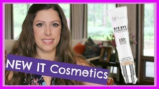 getlinkyoutube.com-IT Cosmetics Bye Bye Foundation Kit ||  Worth it???!