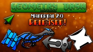 [Geometry Dash] Material 2.0 Texture Pack Released!