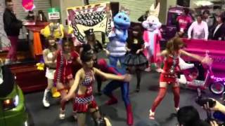 getlinkyoutube.com-大阪オートメッセ2014 翔プロデュース 軽トラガール