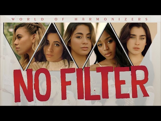 NO FILTER - FIFTH HARMONY karaoke version ( no vocal ) lyric instrumental
