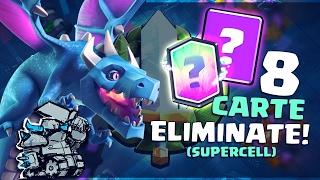 LE 8 Nuove CARTE TESTATE da Supercell MA ELIMINATE! Mostro Elisir, Mega Pekka e altri!