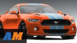 getlinkyoutube.com-REVEALED! 2015 Ford Mustang - CRAZY Mustangs of SEMA 2013 - AmericanMuscle.com