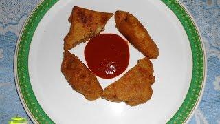 getlinkyoutube.com-Leftover / Basi Roti pakora (बासी रोटी /बची हुई रोटी की पकोड़ा)