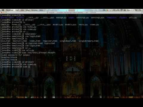 Hacked Existence - Django Tutorial 7 - User Authentication Part  2