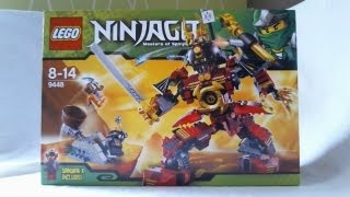 getlinkyoutube.com-LEGO Ninjago Video Review : Samurai Mech [Français]