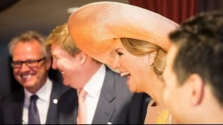 getlinkyoutube.com-King Willem Alexander & Queen Maxima visits Zeeuws Vlaanderen