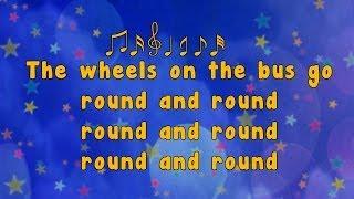 getlinkyoutube.com-Karaoke - Karaoke - Wheels on the Bus