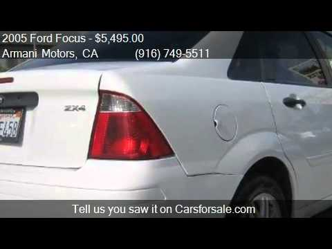 2005 Ford Focus ZX4 SE for sale in Roseville , CA 95678 at A