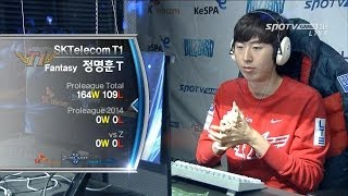 getlinkyoutube.com-[프로리그2014] 방태수(진에어) vs 정명훈(SKT1) 3세트 우주정거장 -EsportsTV,프로리그2014