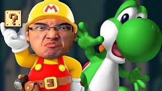 getlinkyoutube.com-Super Mario Maker FR | AVENTURO AVEC YOSHI BOY!