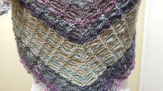 getlinkyoutube.com-Chal Matizado Crochet