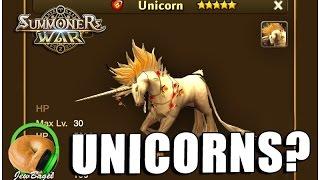 getlinkyoutube.com-SUMMONERS WAR : Leaked data for new Unicorn monsters?