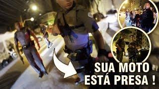ABORDAGEM POLICIAL COM ARMA EM PUNHO !