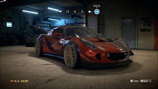 getlinkyoutube.com-Need For Speed 2015 - Lotus Exige S 2006 - Customize Car | Tuning (XboxONE HD) [1080p]
