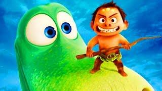getlinkyoutube.com-❤ The Good Dinosaur ❤ Toys Brinquedos ❤ Bom Dinossauro Pixar Surprise Eggs Movies Trailer 4/14