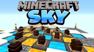 getlinkyoutube.com-Eine Tonne Strom & neue Stromkabel! - Minecraft SKY Folge #18