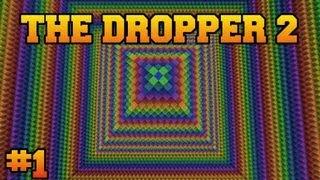 getlinkyoutube.com-Minecraft: The Dropper 2 - Part 1 - Newton Vs. Darwin