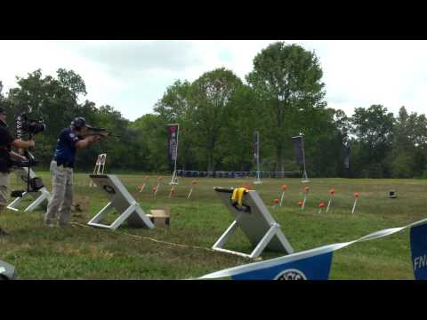 Jerry Miculek (Final round 1) RockCastle AR15.com 3 Gun Nation Shoot-off